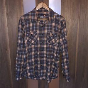 QUICKSILVER Men's Long-Sleeve Flannel